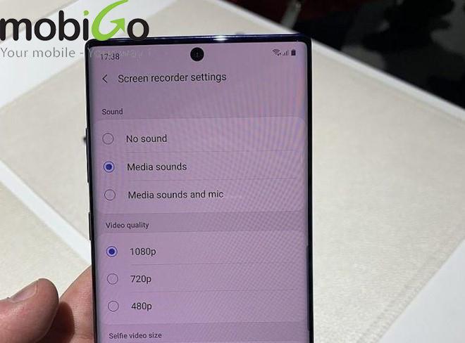 Những tính năng thú vị chỉ có trên Samsung Galaxy Note 10
