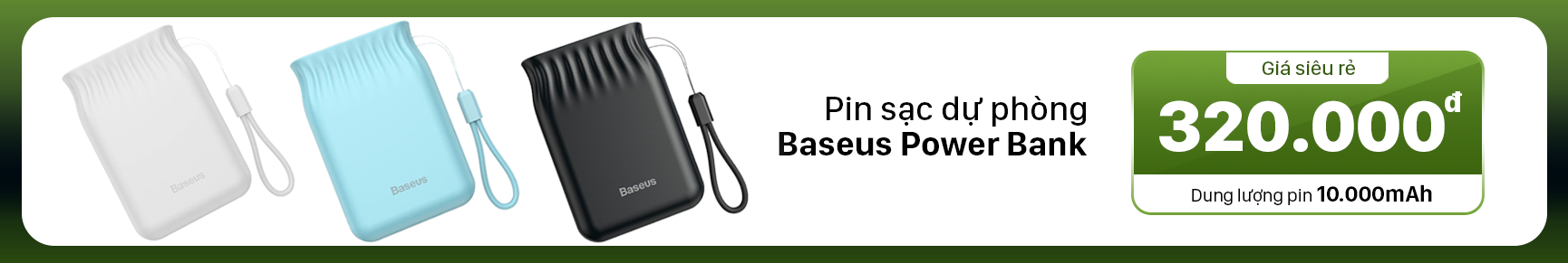 baseus power bank bs-10kp105