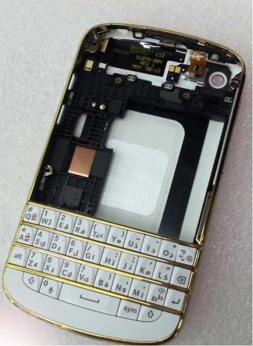 bộ vỏ gold blackberry q10