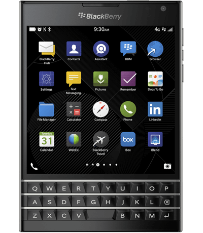 blackberry passport likenew
