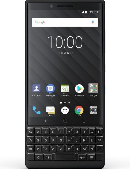 blackberry key2 black new fullbox