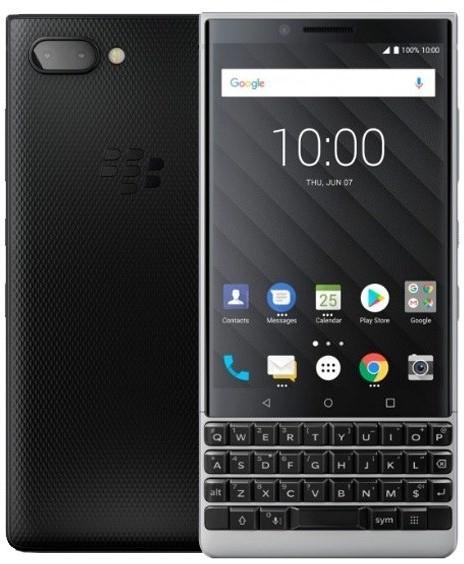 blackberry keytwo silver new fullbox