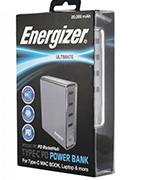sạc dự phòng energizer xp20001pd - 20.000 mah pd 40w
