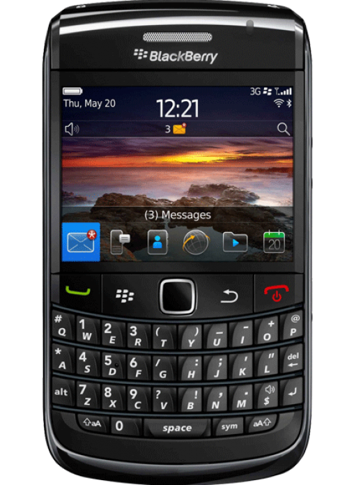 blackberry 9780 new black