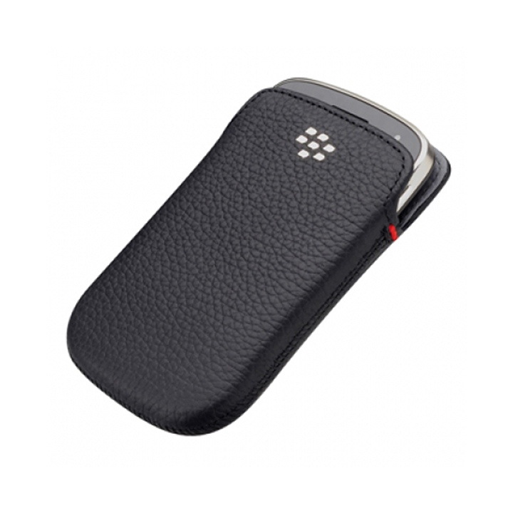bao cầm tay blackberry 9900 - leather pocket cover case blackberry 9900