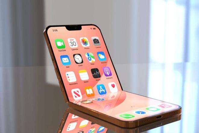 iphone gập - trào lưu smartphone gập đang rất thịnh hành?
