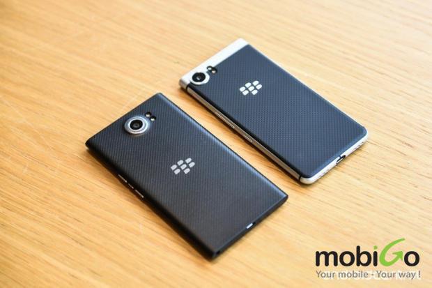 so sánh sự khác nhau giữa blackberry priv và blackberry keyone vừa ra mắt