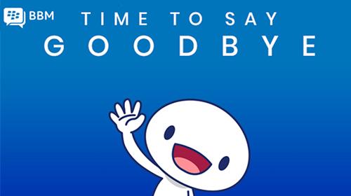 tin buồn : blackberry đóng cửa dịch vụ nhắn tin bbm miễn phí vào cuối tháng 5