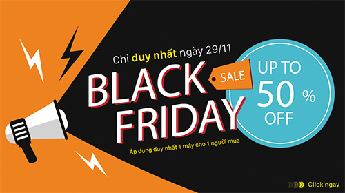 [hot] black friday: giảm giá smartphone lên đến 50% tại mobigo