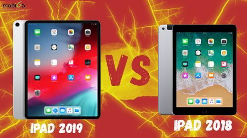 so sánh ipad 2019 với ipad 2018: có khác biệt không?