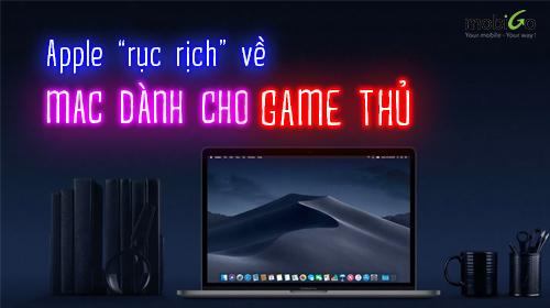 """apple """"rục rịch"""" về máy mac chuyên phục vụ game thủ"""