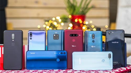 top smartphone tốt nhất nữa đầu năm 2019