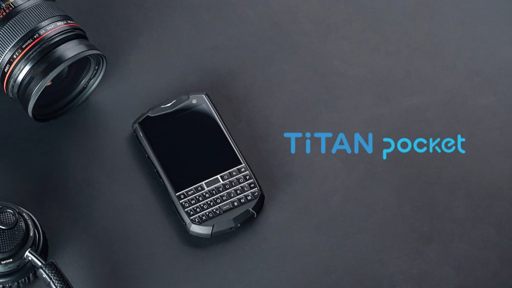 sơ bộ thông tin về unihertz titan pocket